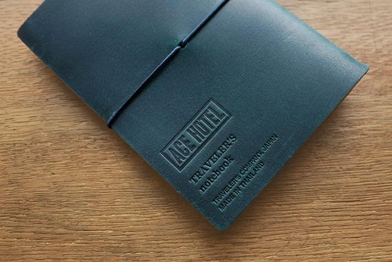 TF トラベラーズノート パスポートサイズ ACE HOTEL ブルー2