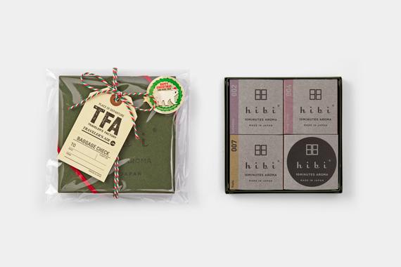 hibi 3種の香り ギフトボックス クリスマス限定パッケージ