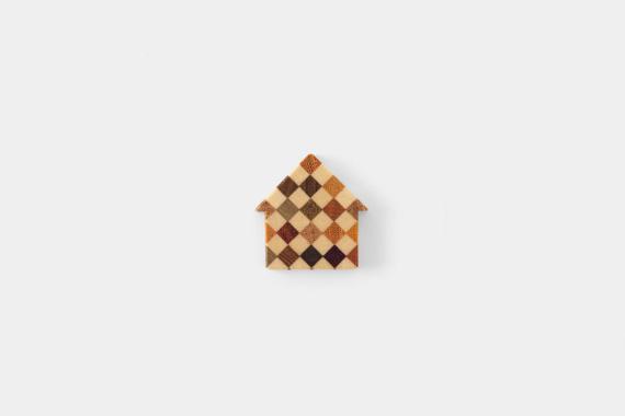 るちゑ チャーム 寄木 家型