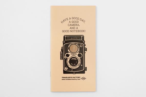 カードファイル 二眼レフカメラ柄