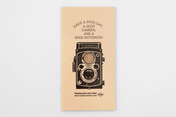 トラベラーズノートリフィル カードファイル 二眼レフカメラ柄