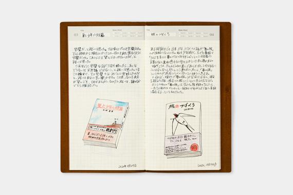 トラベラーズノート リフィル 日記