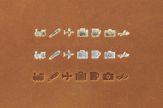 刻印したトラベラーズノート一覧