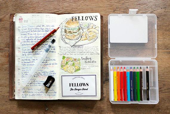 uni 水彩色鉛筆 コンパクトセット 12色