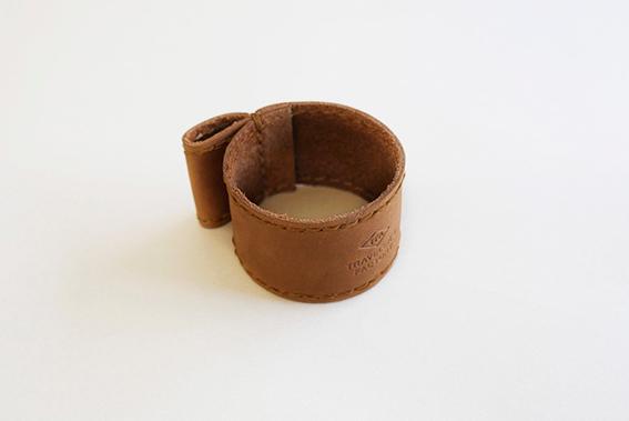 レザーミル用ベルト 茶1