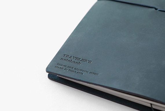TRAVELER'S notebook Blue_2