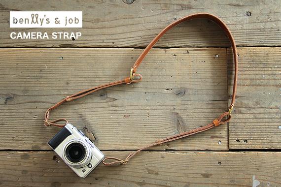 「BENLLY'S & JOB」オリジナルカメラストラップ