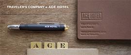 ACE HOTELとのコラボレーションアイテム