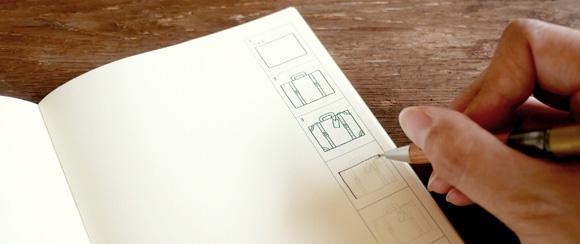 【TFA】水縞コラボレーションリフィル&トラベラーズノートがぴったり入るバッグが発売します!