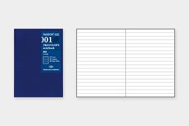 トラベラーズノート パスポートサイズ リフィル 横罫 MD (14368006)