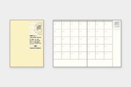 トラベラーズノート パスポートサイズ リフィル 月間フリー (14326006)