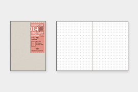 トラベラーズノート パスポートサイズ リフィル ドット方眼 (14405006)