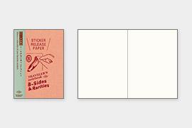 トラベラーズノート パスポートサイズ リフィル シール台紙(14437006)