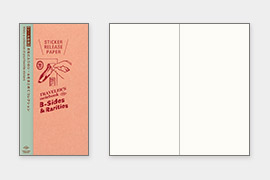トトラベラーズノート リフィル シール台紙(14429006)