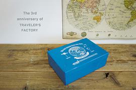 トラベラーズファクトリー3周年記念缶セット