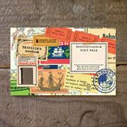 TF ポストカード コラージュ柄2 (07100101)