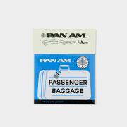 TF スーツケースステッカー パンナム バゲッジラベル柄