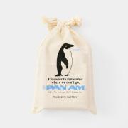 F コットンバッグ<M> パンナム ペンギン