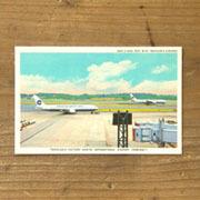 TF ポストカード NRT AIRPORT柄 (07100346)