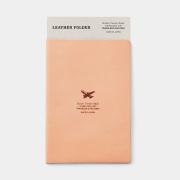 TF BVS パスポートサイズ レザーホルダー 飛行機
