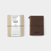 TF トラベラーズノート パスポートサイズ TO&FRO 茶