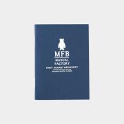 TF トラベラーズノート パスポートサイズ リフィル MFB ネイビー