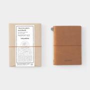 TF トラベラーズノート パスポートサイズ tokyobike キャメル