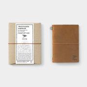 TF トラベラーズノート パスポートサイズ TO&FRO 2020 キャメル
