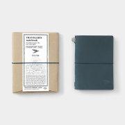 TF トラベラーズノート パスポートサイズ TO&FRO 2020 ブルー