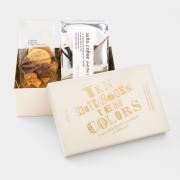 10周年記念缶セット クッキー&ビスコッティ+コーヒー