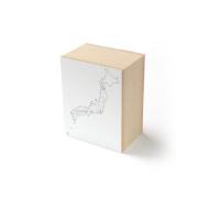 水縞 ハンコ 日本白地図