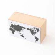 水縞 ハンコ 世界地図