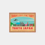 バゲッジステッカー 四角 JAPAN