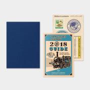 トラベラーズノート パスポートサイズ リフィル 2018 週間 後半