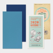 トラベラーズノート リフィル 2020 週間+メモ