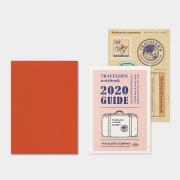 トラベラーズノート パスポートサイズ リフィル 2020 月間