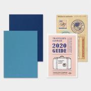 トラベラーズノート パスポートサイズ リフィル 2020 週間