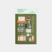 トラベラーズノート パスポートサイズ クリアホルダー 2020