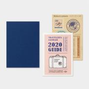 トラベラーズノート パスポートサイズ リフィル 2020 週間 後半