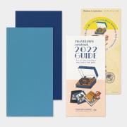 トラベラーズノート リフィル 2022週間+メモ