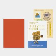 トラベラーズノート パスポートサイズ リフィル 2022 月間
