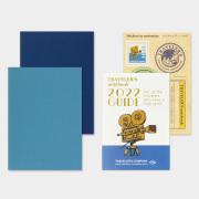 トラベラーズノート パスポートサイズ リフィル 2022 週間